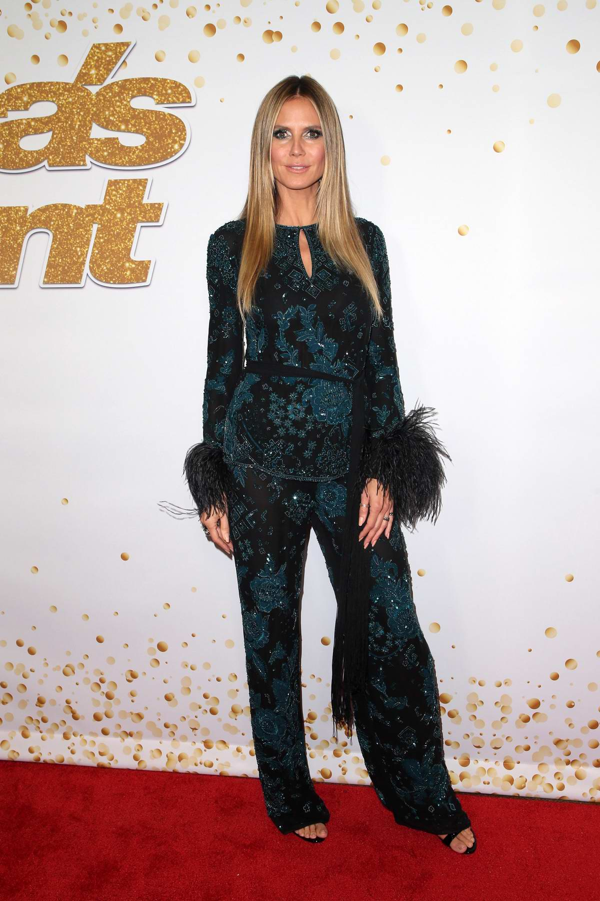 Heidi Klum attends America's Got Talent, Season 13 live show finals at the Dolby Theater in Hollywood, Los Angeles