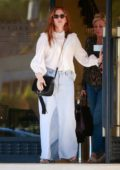 Isla Fisher does some shopping at Barneys New York in Beverly Hills, Los Angeles