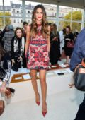 Izabel Goulart attends the Valentino Show during Paris Fashion Week in Paris, France