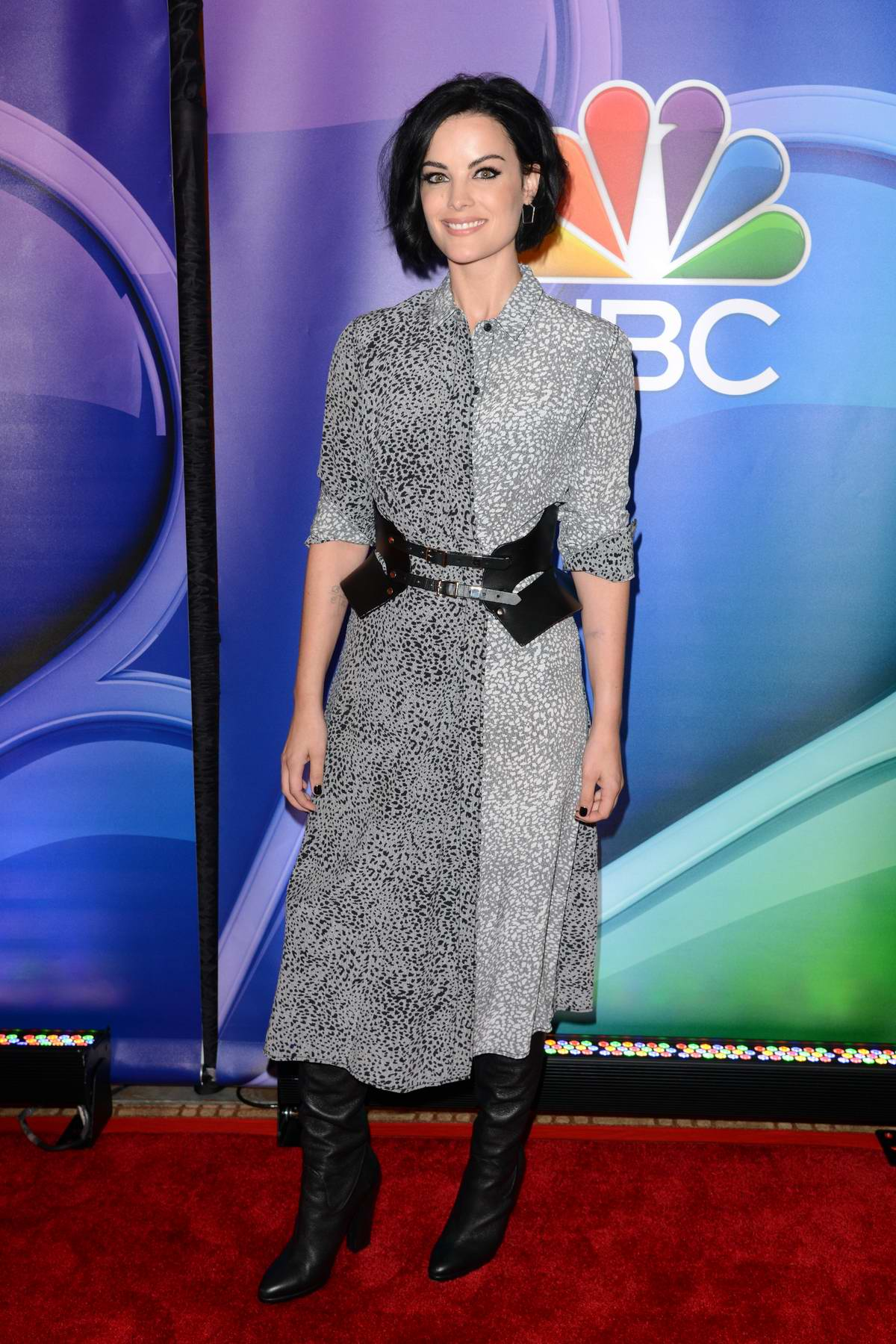 Jaimie Alexander attends NBC Fall Junket in New York City