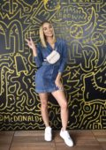 Jasmine Sanders at the McDonald's at Made in America Festival in Philadelphia, Pennsylvania