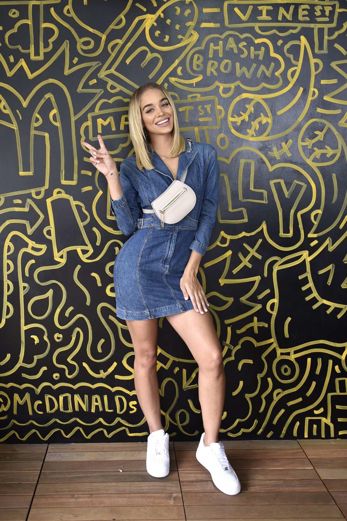 Jasmine Sanders at the McDonald's at Made in America Festival in Philadelphia, Pennsylvania