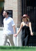 Jennifer Lawrence and Cooke Maroney seen holding hands while out in Rome, Italy