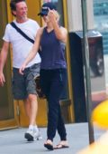 Jennifer Lawrence does not appreciate the camera as she heads to a nail salon in New York City