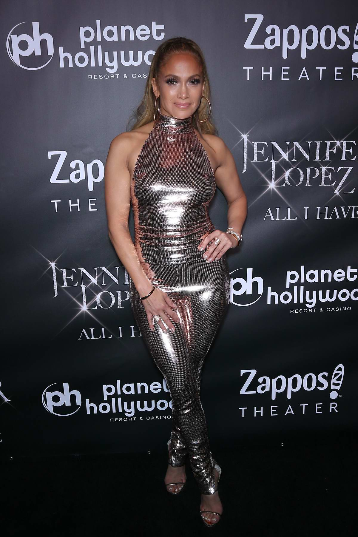 Jennifer Lopez at the after party for the finale of the 'Jennifer Lopez: All I Have' residency in Las Vegas, Nevada