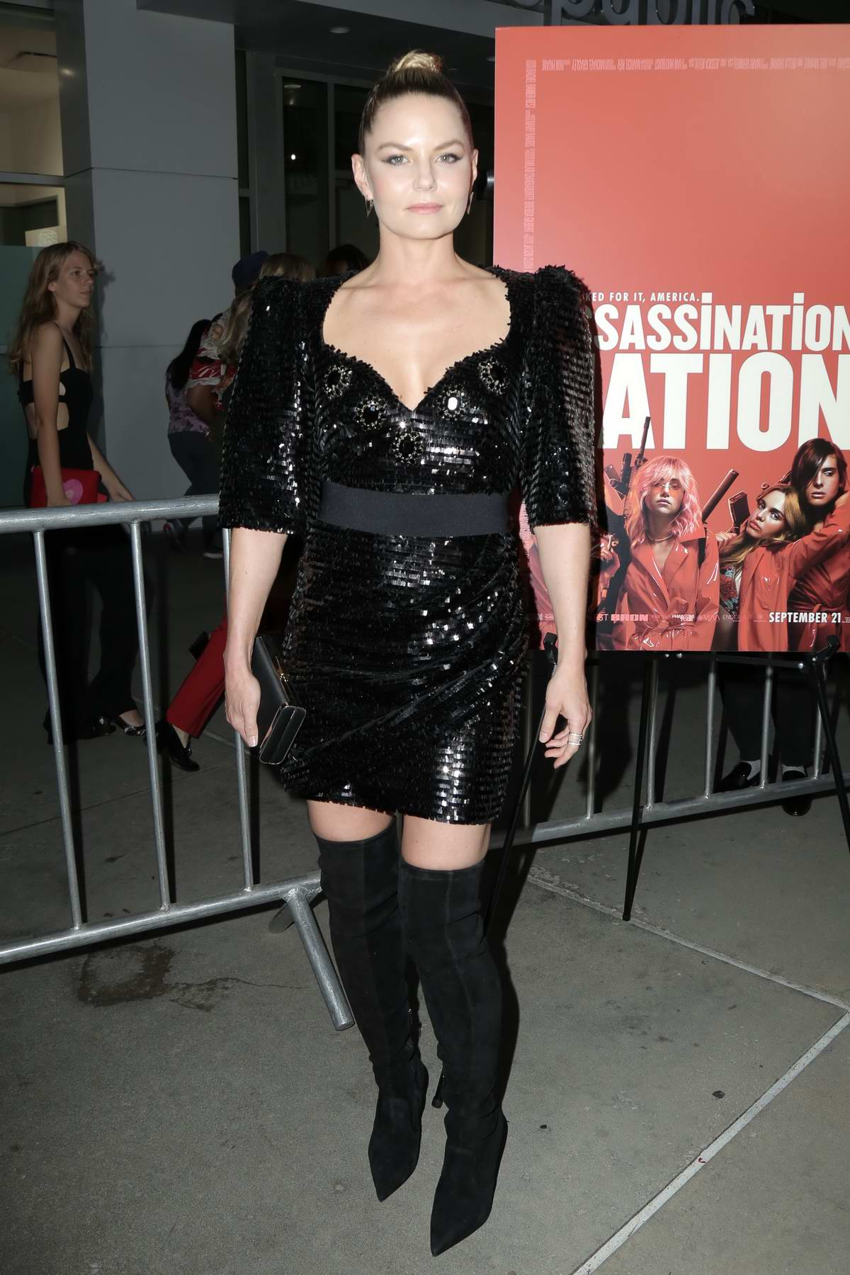 Jennifer Morrison attends 'Assassination Nation' film premiere at ArcLight Hollywood in Hollywood, Los Angeles