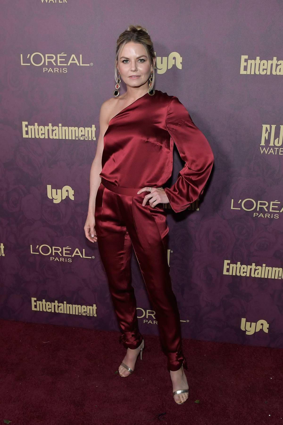 Jennifer Morrison attends Entertainment Weekly and L'Oreal Paris Pre-Emmy party in Los Angeles