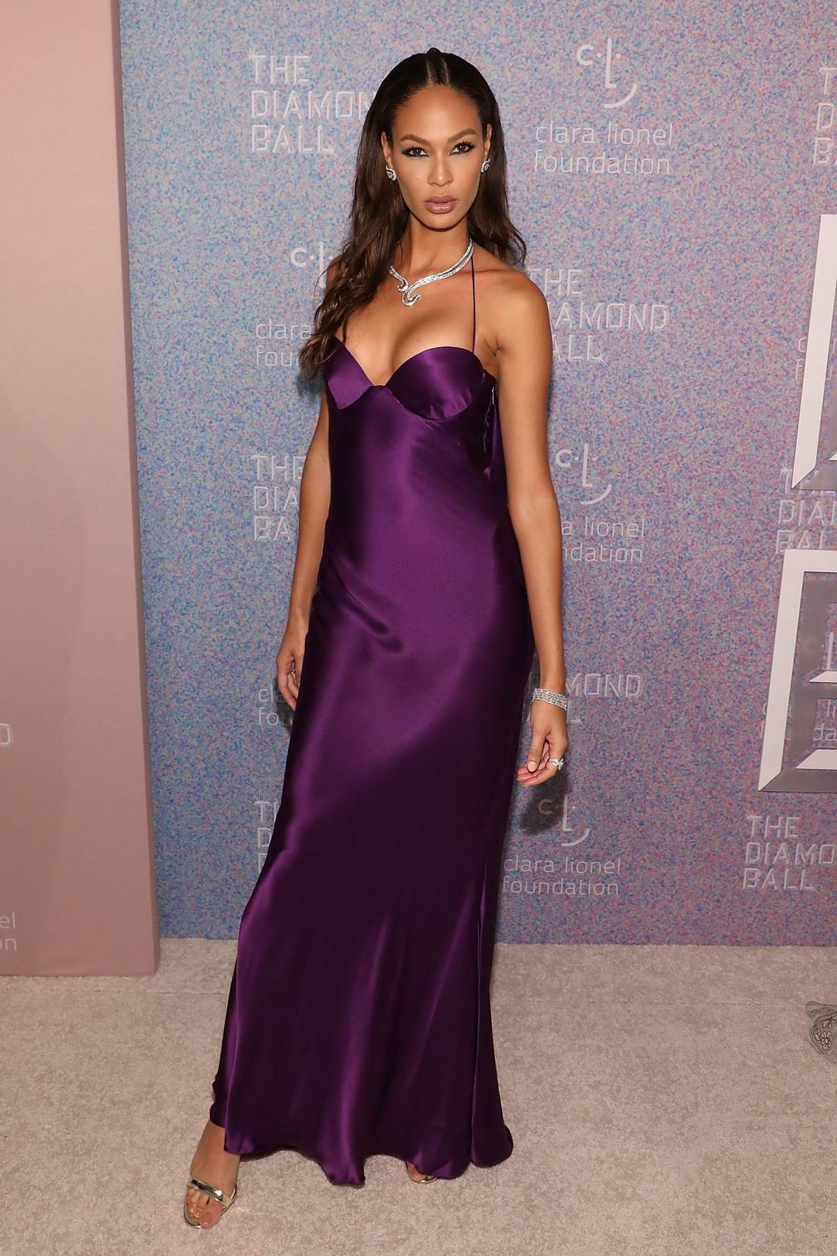 Joan Smalls attends 4th Annual Clara Lionel Foundation Diamond Ball in New York City