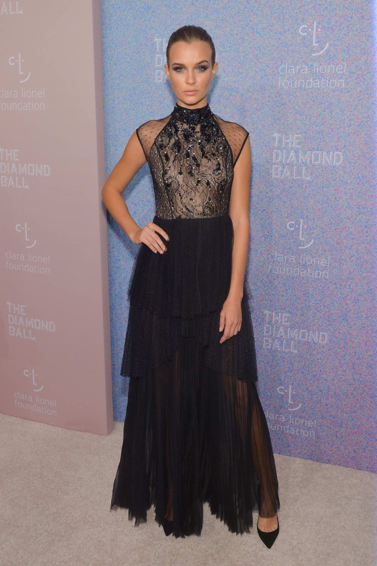 Josephine Skriver attends 4th Annual Clara Lionel Foundation Diamond Ball in New York City