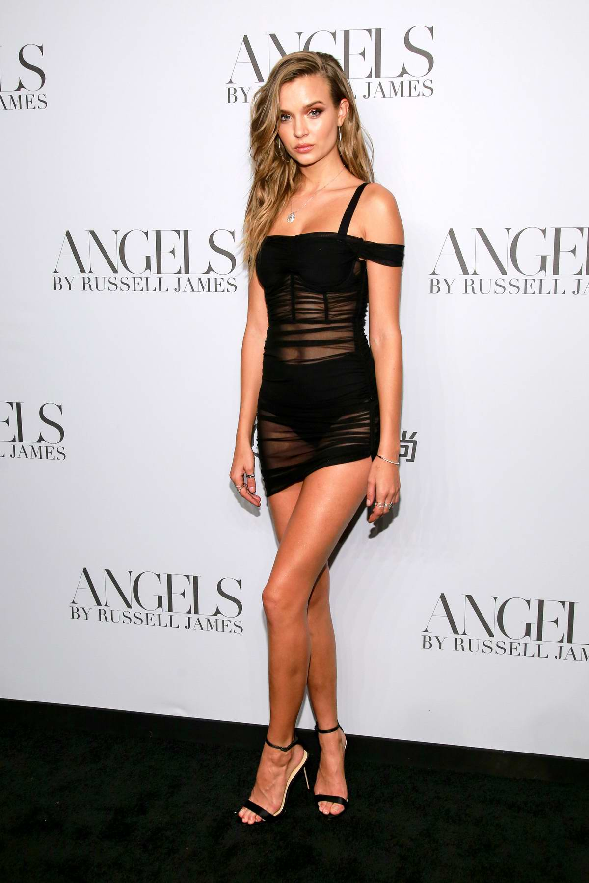 Josephine Skriver attends 'ANGELS' by Russell James Book Launch And Exhibit in New York City