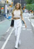 Josie Canseco arriving at the casting call for the Victoria's Secret fashion show in New York City