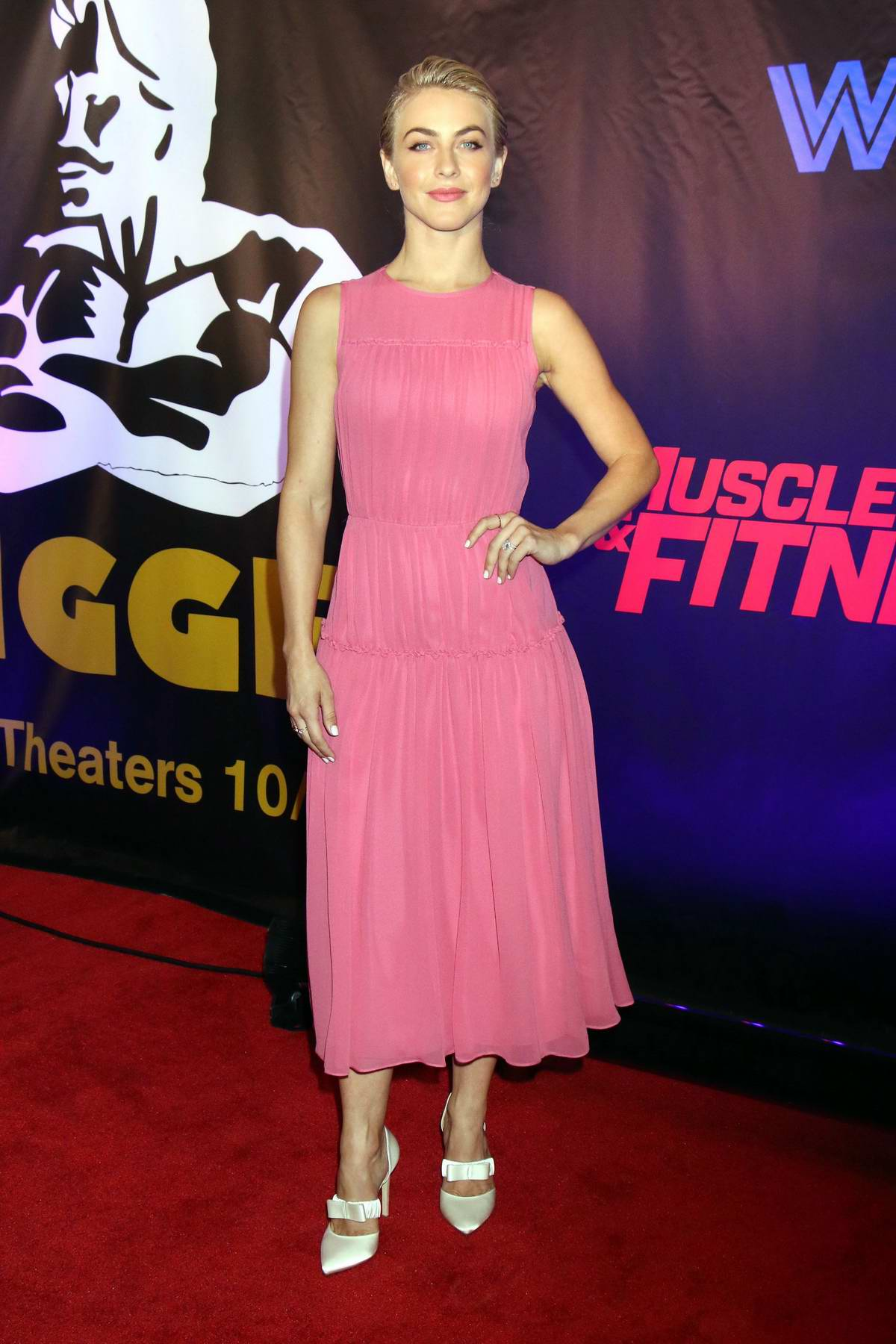 Julianne Hough attends Freestyle Releasing's World Premiere of 'Bigger' at the Orleans Arena in Las Vegas, Nevada