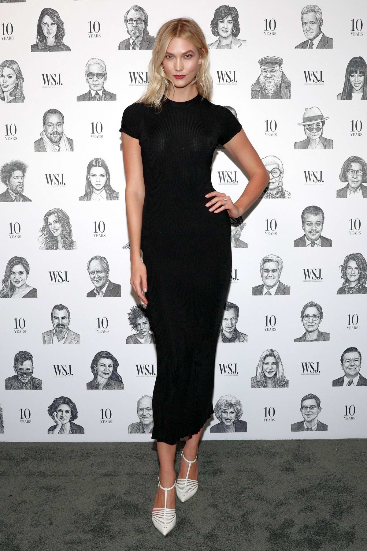 Karlie Kloss attends WSJ Magazines 10th Anniversary Party in New York City