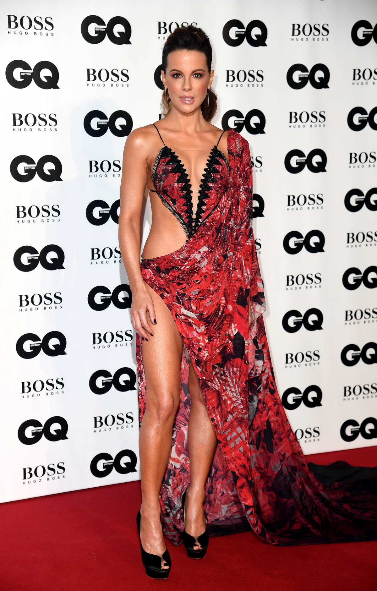Kate Beckinsale attending the GQ Men of the Year Awards 2018 at the Tate Modern in London, UK