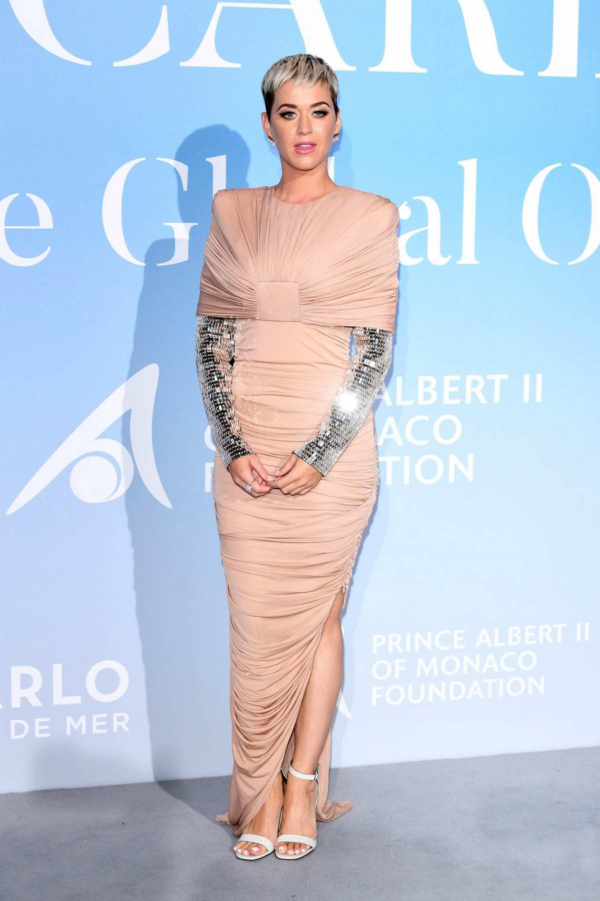Katy Perry attends the Gala For The Global Ocean in Monte Carlo, Monaco