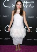 Keira Knightley attends special screening of Bleecker Street Media's 'Colette' in Beverly Hills, Los Angeles