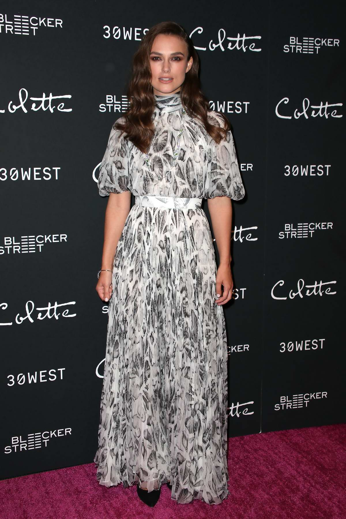 Keira Knightley attends special screening of 'Colette' in New York City
