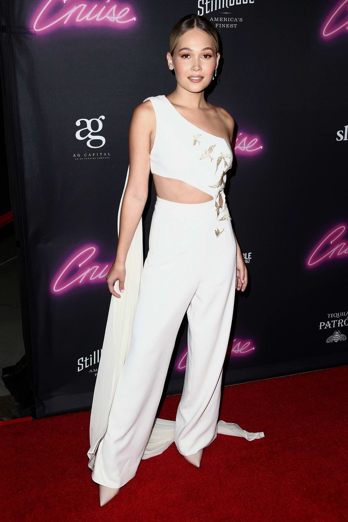 Kelli Berglund attends LA Premiere for 'Cruise' at Arclight Hollywood in Los Angeles