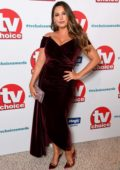 Kelly Brook attends The TV Choice Awards 2018 at Dorchester Hotel in London, UK