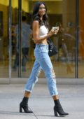 Kelly Gale attends callbacks for the Victoria's Secret Fashion Show 2018 in Midtown, New York City