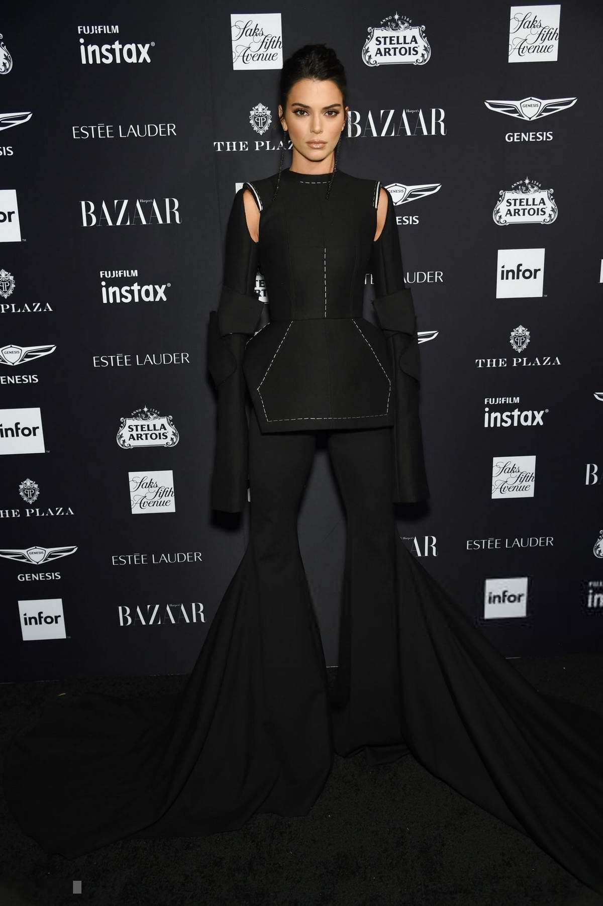 55026b9995 Kendall Jenner attends Harper's Bazaar ICONS party at the Plaza Hotel in  New York City