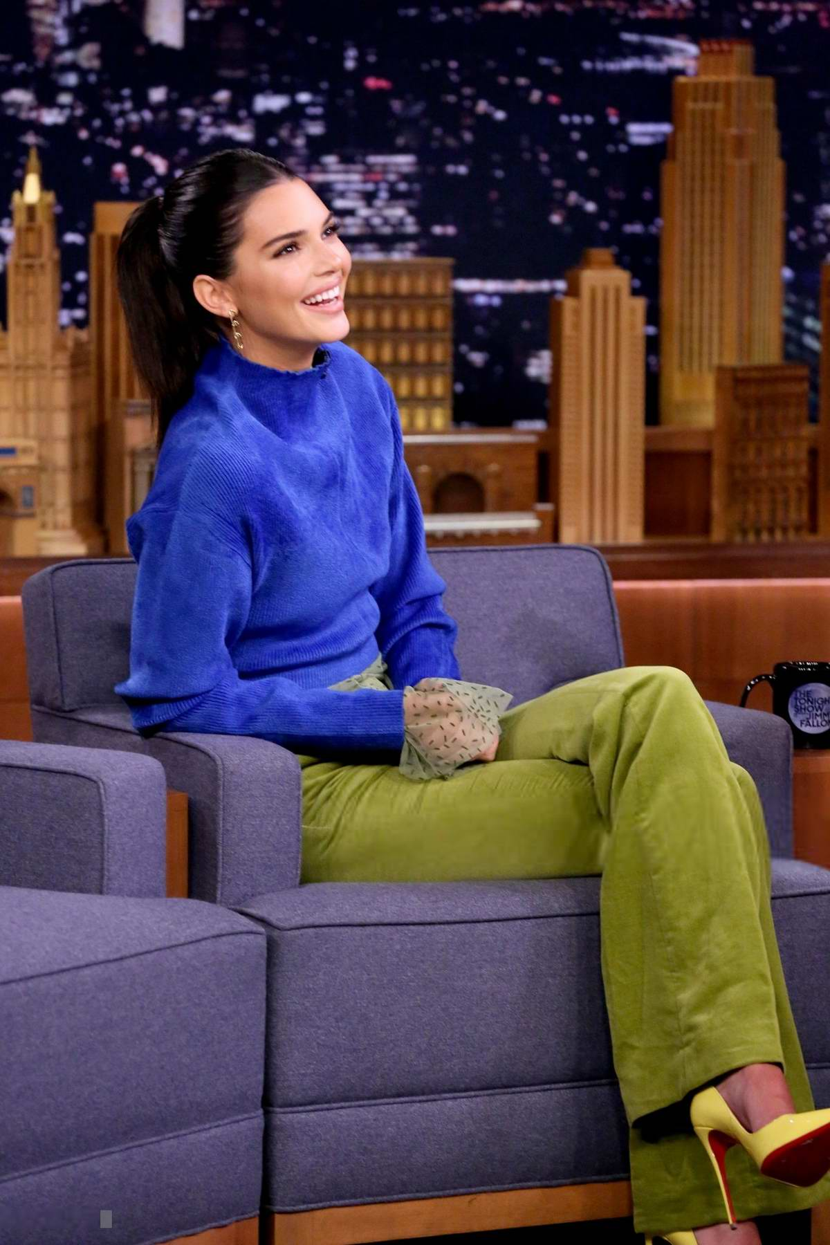 Kendall Jenner visits 'The Tonight Show Starring Jimmy Fallon' in New York City