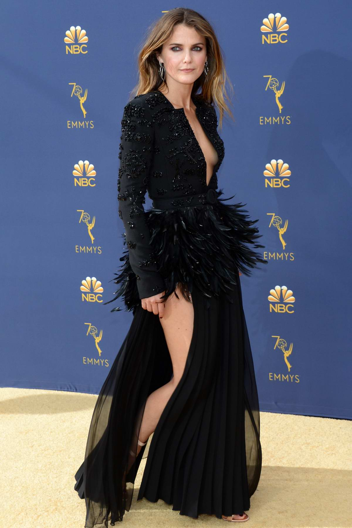 Keri Russell attends the 70th Primetime EMMY Awards (EMMYS 2018) at Microsoft Theater in Los Angeles
