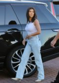Kourtney Kardashian steps out to dinner in Malibu, California