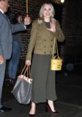 Kristen Bell spotted leaving 'The Late Show With Stephen Colbert' in New York City