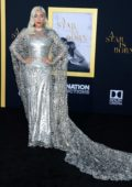 Lady Gaga attends 'A Star Is Born' film premiere at Shrine Auditorium in Los Angeles