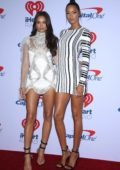 Lais Ribeiro and Shanina Shaik attends 2018 iHeartRadio Music Festival, Day 2 at T-Mobile Arena in Las Vegas, Nevada