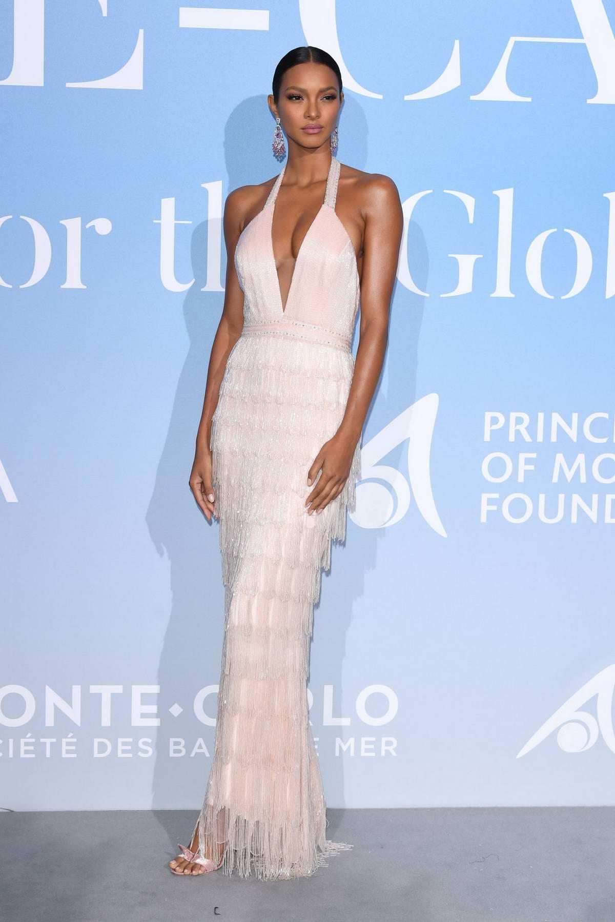 Lais Ribeiro attends the Gala For The Global Ocean in Monte Carlo, Monaco