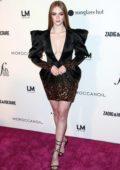Larsen Thompson attends the Daily Front Row's 2018 Fashion Media Awards at Park Hyatt in New York City