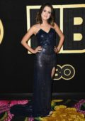 Laura Marano attends 70th Primetime Emmy Awards HBO party at the Pacific Design Center in Los Angeles