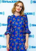 Leighton Meester visits SiriusXM Studios to promote her upcoming series 'Single Parents' in New York City
