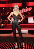 Lena Gercke at 'The Voice' Germany photocall at the Berlin Studio in Berlin, Germany