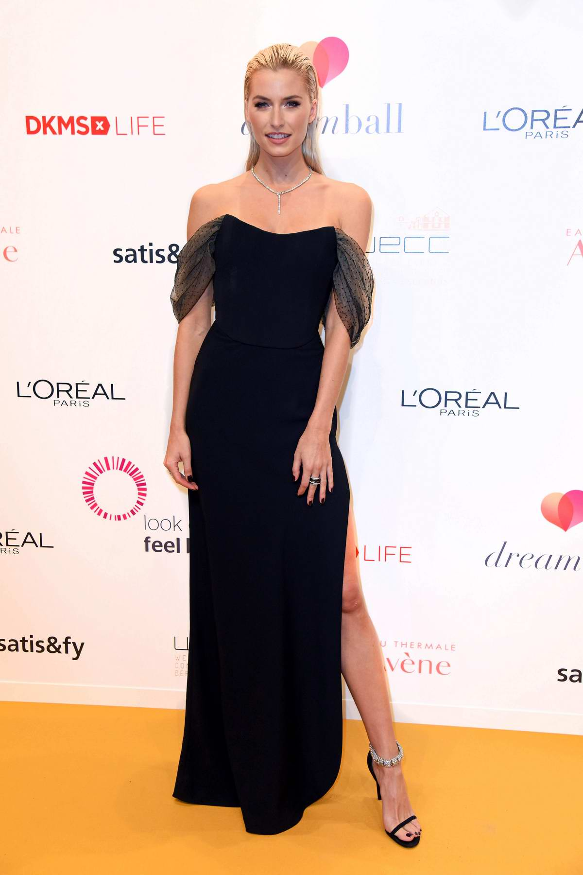 Lena Gercke attends Dreamball 2018 at Westhafen Event & Convention Center (WECC) in Berlin, Germany
