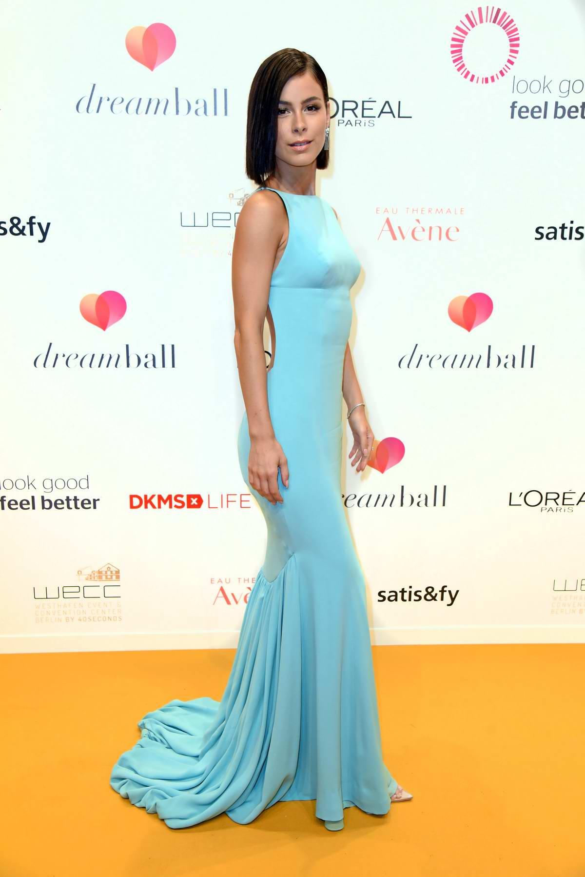 Lena Meyer-Landrut attends Dreamball 2018 at WECC - Westhafen Event & Convention Center in Berlin, Germany