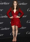 Lily Collins attends Cartier Precious Garage Party Spring/Summer 2019 during New York Fashion Week in New York City