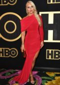 Lindsey Vonn attends 70th Primetime Emmy Awards HBO party at the Pacific Design Center in Los Angeles