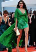 Loredana Violeta Salanta attends 'A Star Is Born' premiere during the 75th Venice Film Festival in Venice, Italy