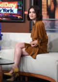 Lucy Hale appears on 'Good Day New York' on FOX 5, New York City