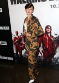 Maggie Grace attends 'The Walking Dead' TV show screening in Los Angeles