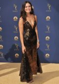 Mandy Moore attends the 70th Primetime EMMY Awards (EMMYS 2018) at Microsoft Theater in Los Angeles