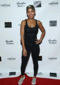 Meagan Good attends the premiere of '3 Years In Pakistan: The Erik Aude Story' in Hollywood, California