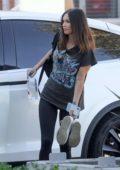 Megan Fox arrives at Smashbox Studios in Culver City, California