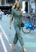 Megan Williams attends callbacks for the Victoria's Secret Fashion Show 2018 in Midtown, New York City