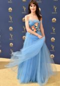 Michelle Dockery attends the 70th Primetime EMMY Awards (EMMYS 2018) at Microsoft Theater in Los Angeles