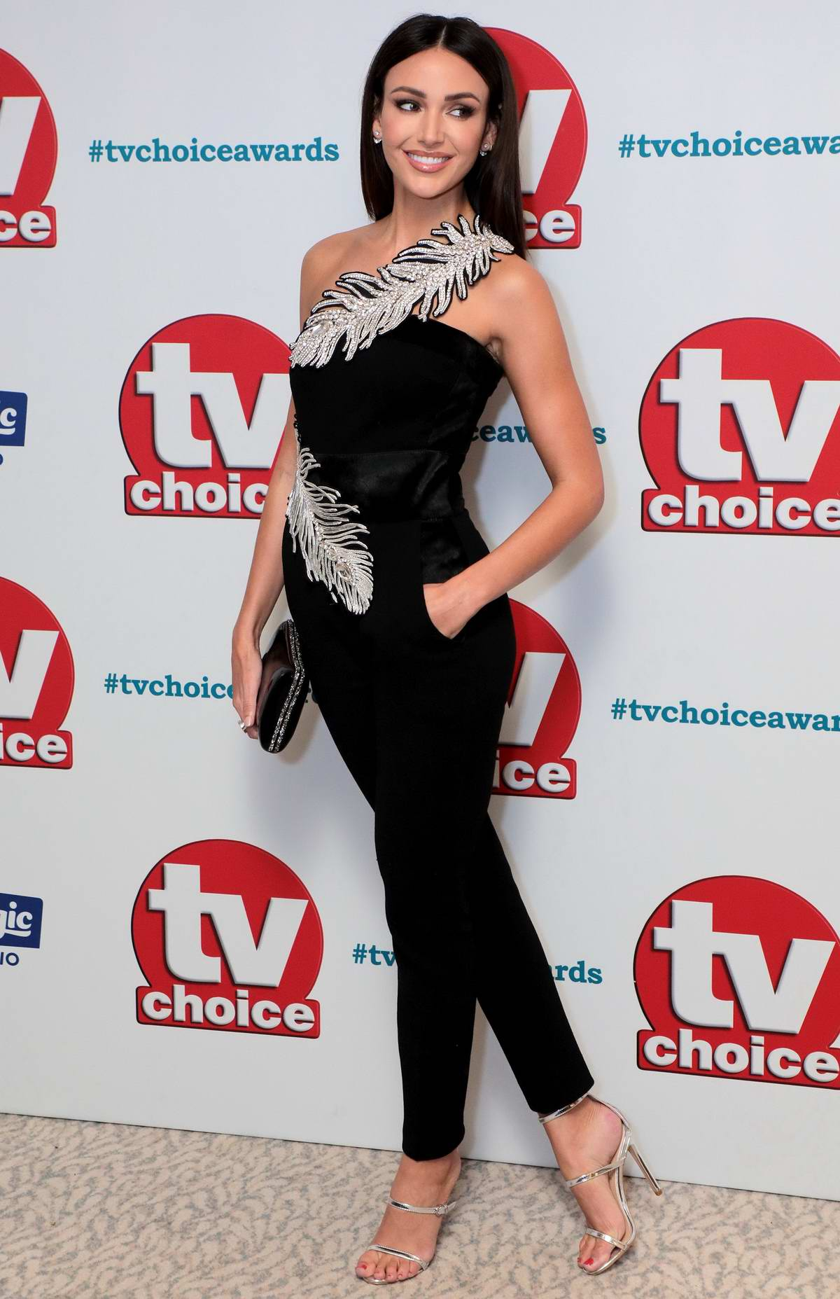 Michelle Keegan attends The TV Choice Awards 2018 at Dorchester Hotel in London, UK
