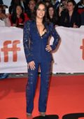 Michelle Rodriguez attends 'Widows' premiere during Toronto International Film Festival (TIFF 2018) in Toronto, Canada